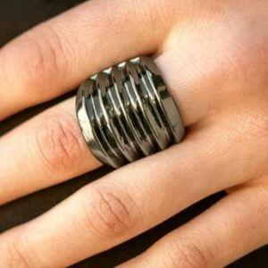 b7dcdba634544 Paparazzi Jewelry | Hitem Where It Hurts Black Ring | Poshmark
